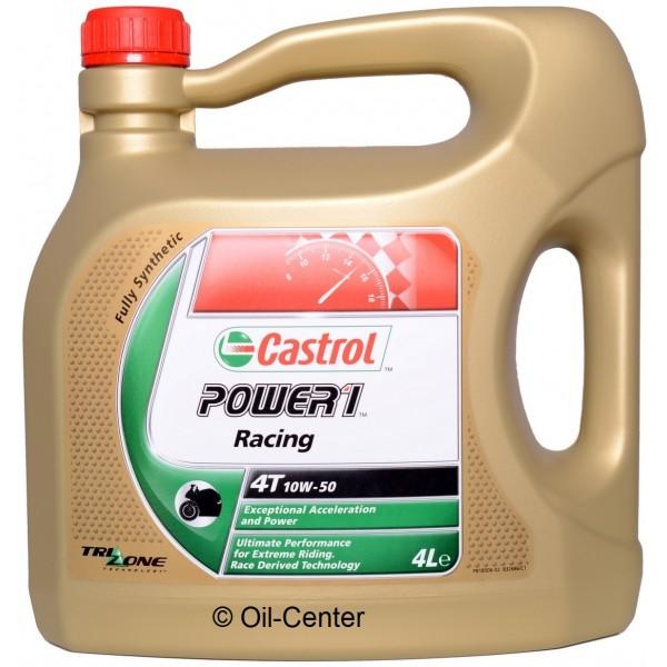 castrol power1 racing 4takt 10w 50 4 liter oliebaas. Black Bedroom Furniture Sets. Home Design Ideas